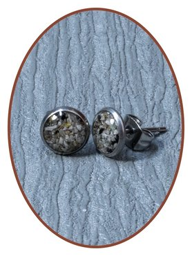 316L Stainless Steel JB Memorials Cremation Earrings - EBB058