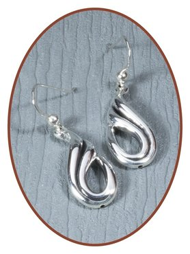 925 Sterling Silver Special Ash Earrings   - EBB1071