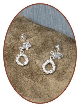 925 Sterling Silver Special Ash Earrings   - EBB32