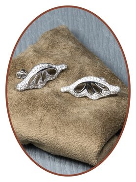 925 Sterling Silver Special Ash Earrings   - EBB64