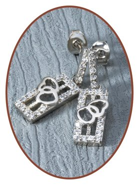 925 Sterling Silver Special Ash Earrings   - EBB7661