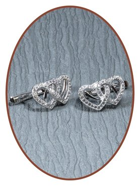 925 Sterling Silver Special Ash Earrings   - EBB7723