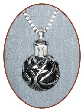 Stainless Steel Ball Cremation Pendant - B088