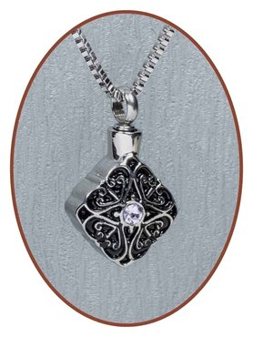 Stainless Steel Cremation Pendant - B077