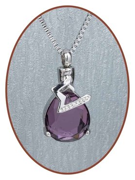 Stainless Steel Design Cremation Pendant - B027