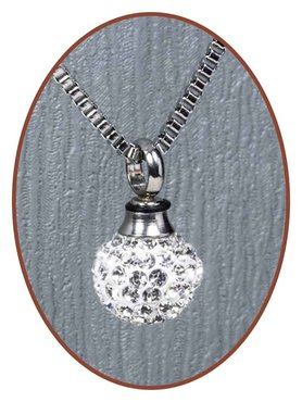 Stainless Steel Ball Cremation Pendant - B135