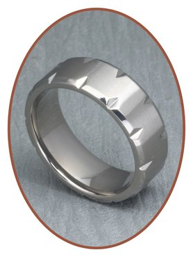 Extra engraving option Tungsten - Cobalt chroom rings inside