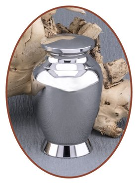 Mini Keepsake Ash Urn Massive Stainless Steel - CAR001