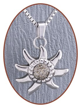 316L Stainless Steel JB Memorials Cremation Pendant - RSP069
