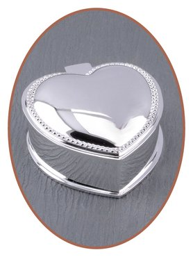 Memory Box / Mini Urn 'Heart' - M382