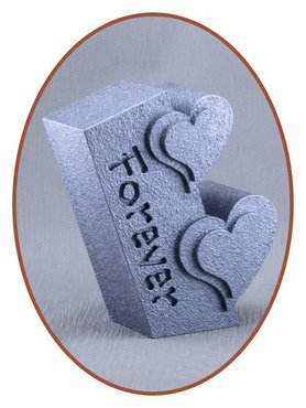 Mini Ash Urn 'Forever' in Different Colors - HM398