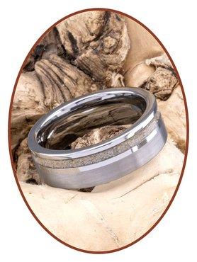 JB Memorials Tungsten Carbide Cremation Ring - WR010