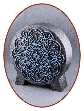 Mini Ash Urn 'Mandala' in Different Colors - HM427