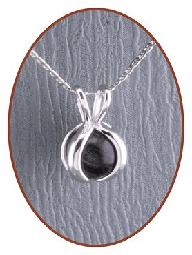 Close2Me© 925 sterling silver hair pendant 'Protected' - CM014AH