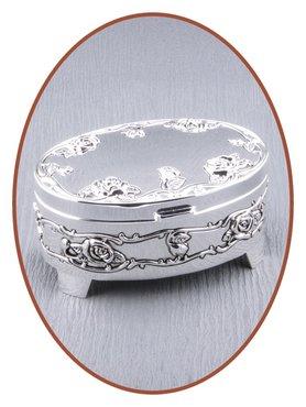 Memory Box / Mini Urn 'Oval' - M389