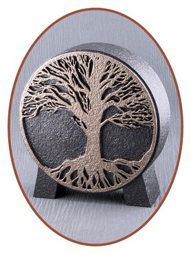 Mini Ash Urn 'Tree of Life' in Different Colors - HM427B