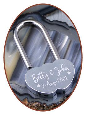 Stainless Steel Love Lock  - LOCK01