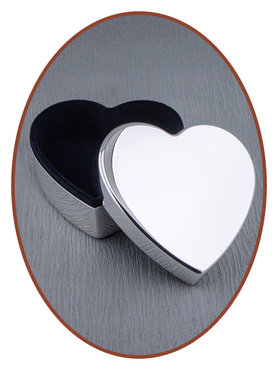 Memory Box / Mini Urn 'Heart' - M393