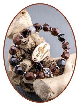 JB Memorials Obsidian Ash Bracelet - KHA021