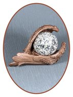 Mini Urn 'Protected by Angels' Color Effect - M044B